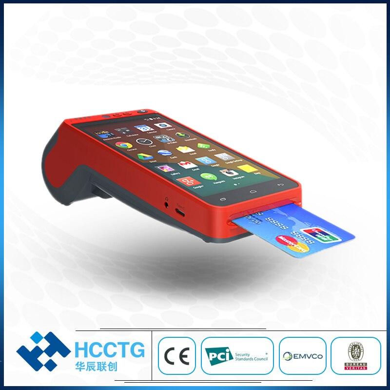 Mobile POS Thermal Printer PCI EMV Android Handheld WIFI 4G Terminal Wireless Bluetooth QR Barcode Scanner Free SDK Z100