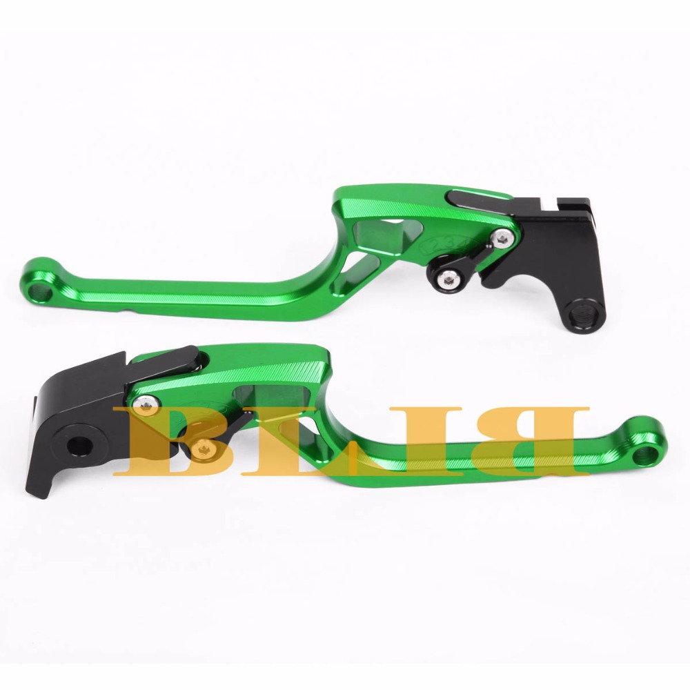 ФОТО 8 Colors For Kawasaki ZX6R 1995-1999 Hot Sale High-quality Motorcycle CNC Aluminum Alloy Right-angled 170mm Brake Clutch Levers