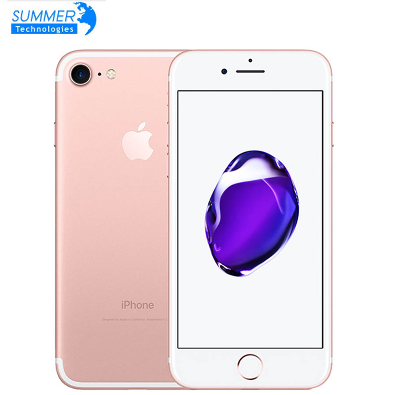 Apple iPhone 7 Original 4G LTE handy Quad Core 2GB RAM 32G/128/256GB IOS 12.0MP Fingerprint Handys