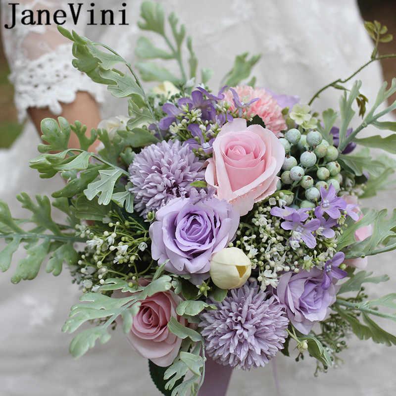 Janevini Macaron Color Bridal Fleur Brides Bouquet Wedding Flowers