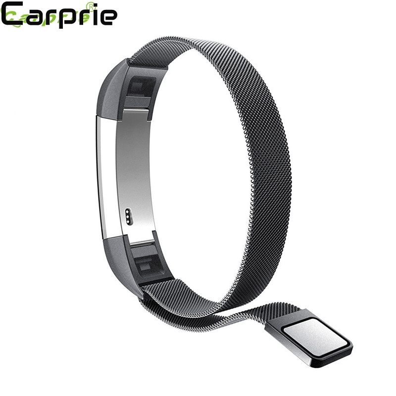 Best price ! Milanese Magnetic Loop Stainless Steel Band For Fitbit Alta Smart Watch Drop Shipping TOP quality 2mar28