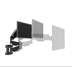 "Image 2 - BL LG312B Ultra long Gas Spring Arm Wall Mount Monitor Holder Full Motion Heavy Duty 17 27"" LCD TV Mount Bracket Loading 2 9kgs"