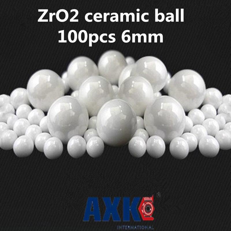 "4 PCS ZrO2 6mm 0.2362/"" Ceramic Zirconia Oxide LOOSE Bearing Balls G5"