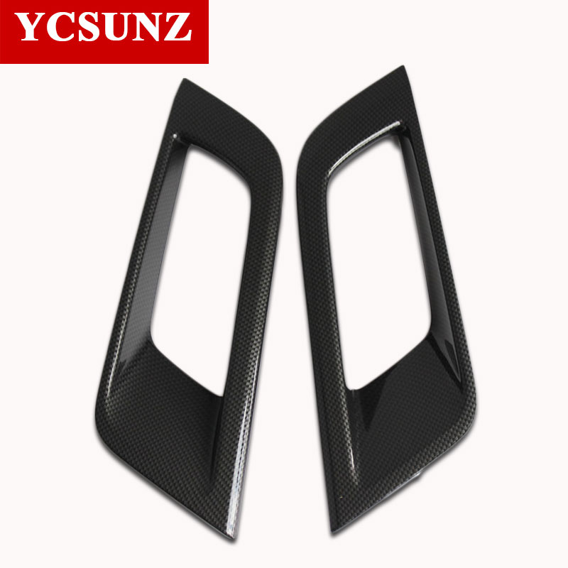 2016 2018 Suitable Ford Ranger Exterior Accessories Carbon Fiber Fog Light Cover Trim For Ford