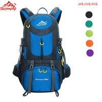 50L Waterproof Climbing Sports Bag Travel Backpack Mountain Trekking Turist Backpack 60L Hiking Rucksack Camping Backpacks