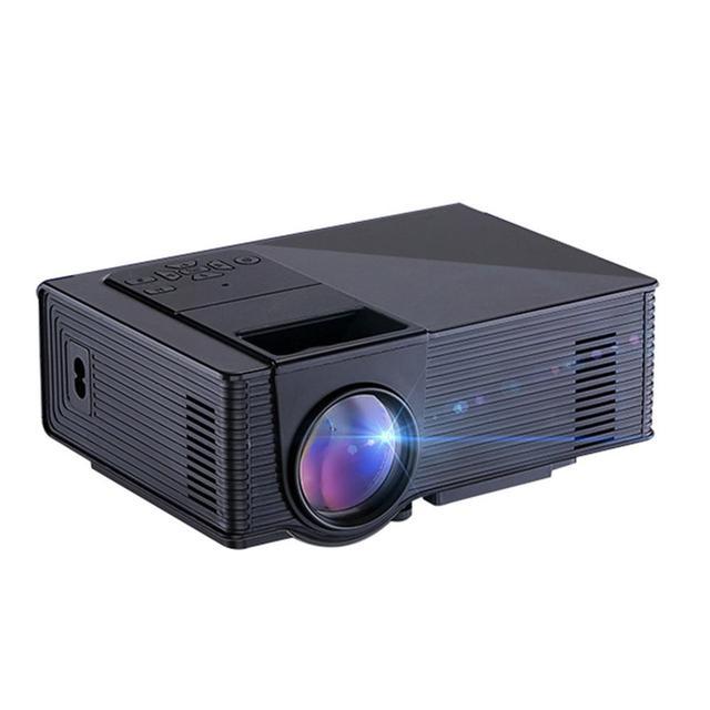 55W Digital Projector Home Cinema Theater Mini LED Projector Portable Support JPEC GIF PNG TIF Image Scaling Projectors