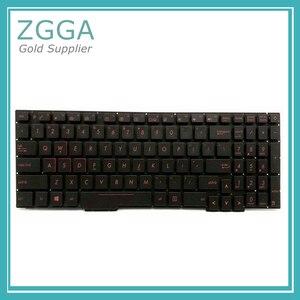 Новый ноутбук с клавиатурой США для Asus GL753 GL753V GL753VE GL753VD Keyset с подсветкой без поддона красный или белый
