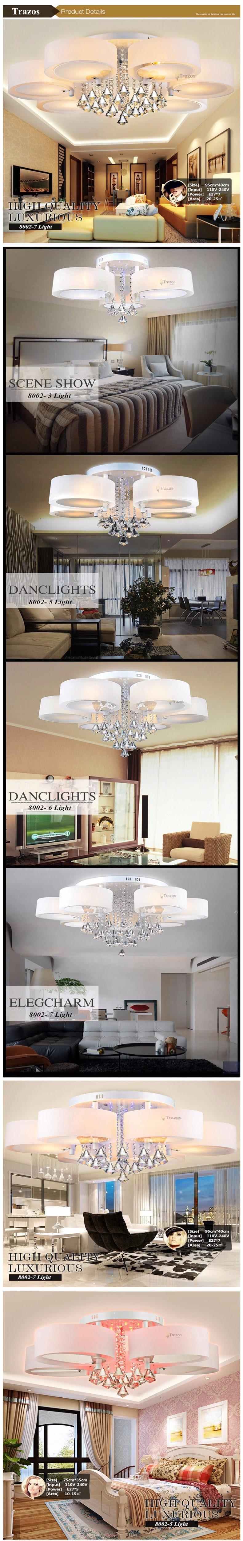 elegante sala jantar lâmpada pendente de teto branco sombra acrílico lustre