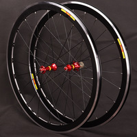High quality 700C high 40mm V Brake disc alloy bike wheelset brake Bmx bicycle Road wheel 7 8 9 10 11 speed wheel set