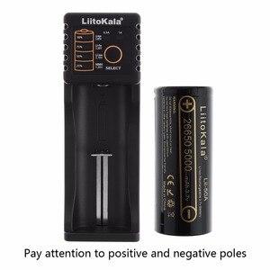 Image 3 - Liitokala 3.7 V 26650 5000 mAh Li ion Rechargeable Batterie + Batterie Ordinateur Portable Cas + Chargeur Unique Smart USB Slot