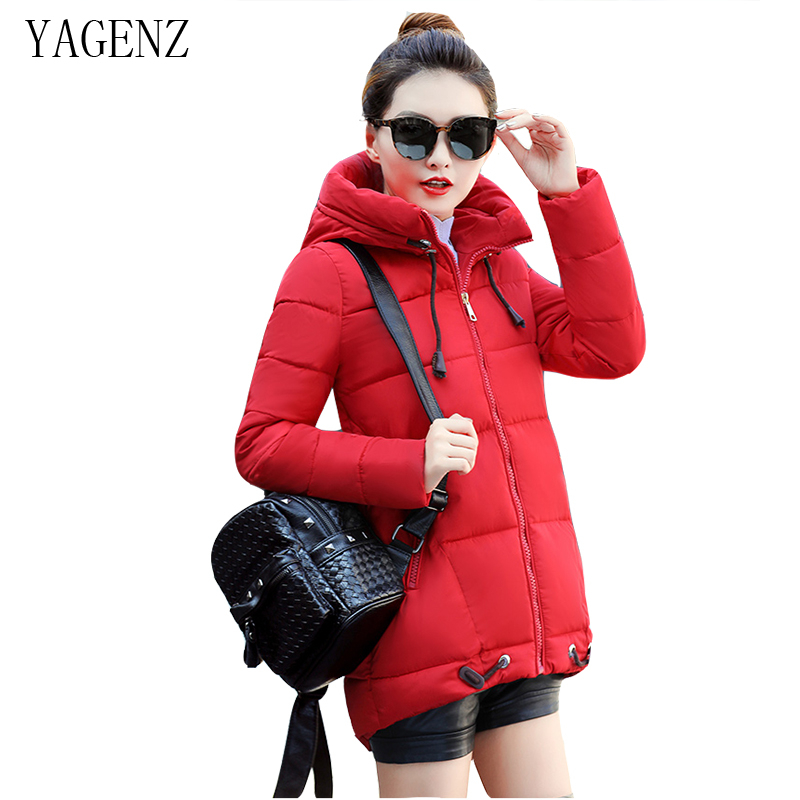 Down Cotton Winter Hooded Jacket Coat Women Clothing Casual Slim Thick Lady Parkas Cotton Jacket Large size Warm Jacket Student down cotton winter hooded jacket coat women clothing casual slim thick lady parkas cotton jacket large size warm jacket student