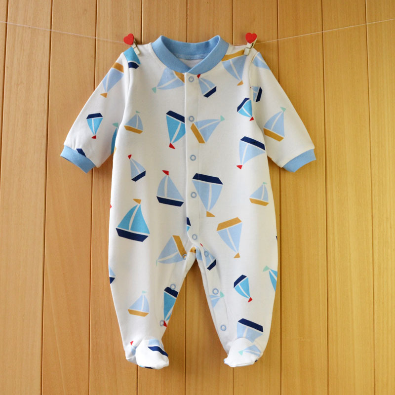 17 New spring cartoon baby rompers cotton 100% girls and boys clothes long sleeve romper Baby Jumpsuit newborn baby Clothing 22