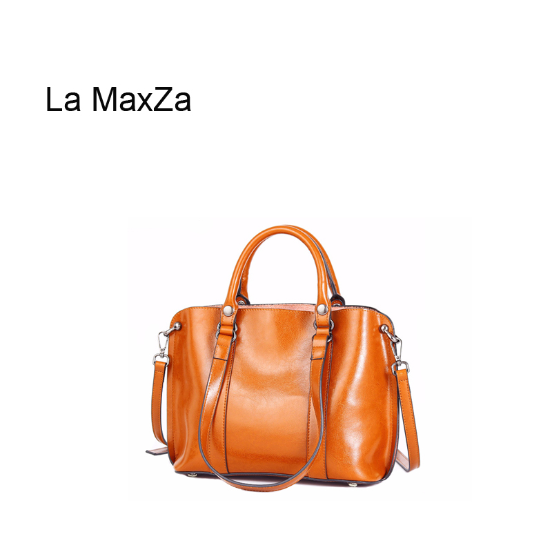 La MaxZa Womens Jet Set Large Crossbody Bag Womens Genuine Leather Designer Luxury Shoulder Bag Cowhide Satchel HandbagLa MaxZa Womens Jet Set Large Crossbody Bag Womens Genuine Leather Designer Luxury Shoulder Bag Cowhide Satchel Handbag