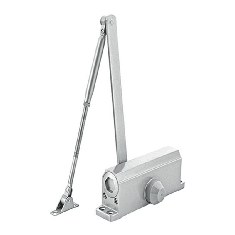 Automatic Door Closer Security System Adjustable Closing/Latching Speed Control Hydraulic Door Buffered 90 Degree 50Kg95cm Width practical stainless buffer door closer adjustable closing latching automatic door security system hand doors 25 45kg
