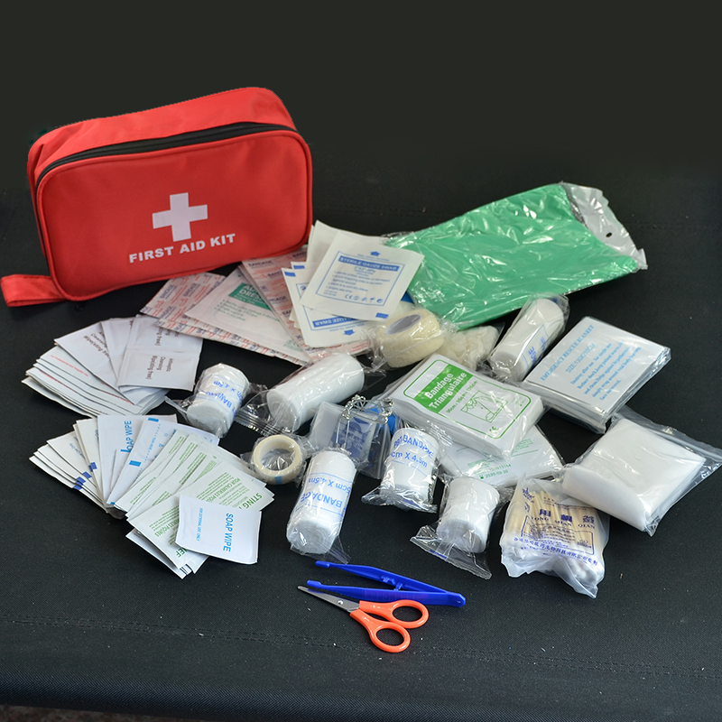180pcs/pack Safe Travel First Aid Kit Camping Hiking Medical Emergency Kit Treatment Pack Set Outdoor Wilderness Survival-in Emergency Kits from Security & Protection