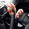 2016 Winter Women Flats Warm Fur Winter Boots Slip On Loafers Flat Comfortable Winter Women Casual Shoes Plus Size 35-40