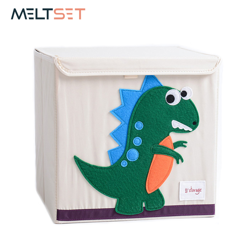 2019 New Wardrobe Kids Organizer Bins Box For Toys: New Animal Design Toys Storage Box For Kids Room Folding