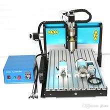 JFT High Efficiency CNC Engraving Machine 4 Axis 800W Spindle Motor Wood Router Machine with Parallel Port 6040