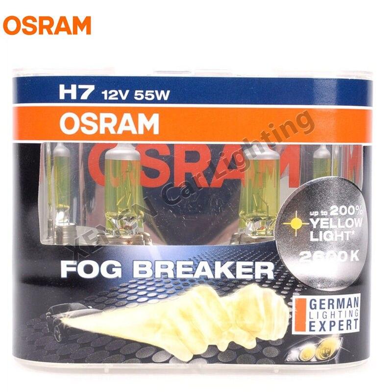 H7 55W Fog Breaker 2 шт. OSRAM