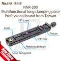 XILETU NNR-200 longo Multifuncional placa de fixação 200mm Rail Nodal Deslize Tripé Prato de Liberação Rápida Acessórios Fotografia