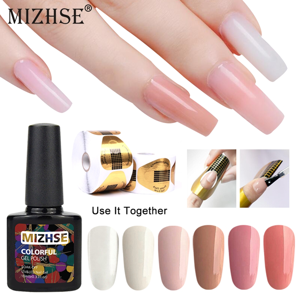 Nail Extensions Gel: MIZHSE UV Gel For Nail Extensions Transparent Color