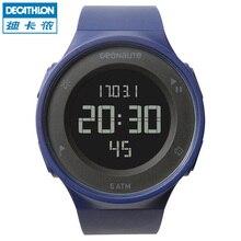 Decathlon 2016 NEW Women watch Men's Multi-Function Waterproof Smart Sports Watch Chronograph Fitness Tracker Pedometer Pair