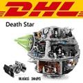 2017 new star wars 3804 unids death star kits de edificio modelo bloques ladrillos diy juguetes para niños compatibles con el regalo 10188