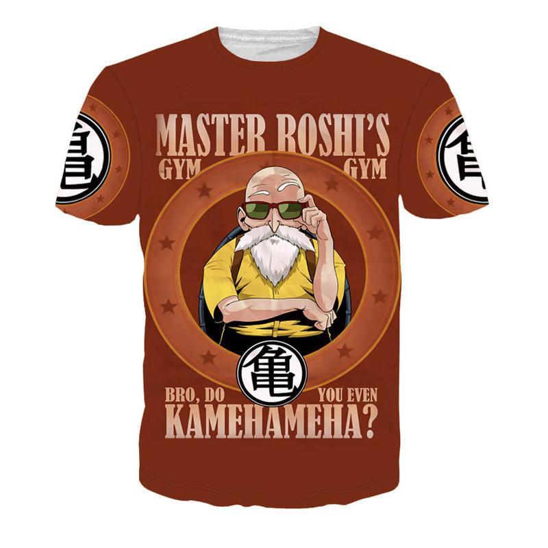 Harajuku classic cartoon dragon ball t shirt super saiyan armour 3d t shirt men anime goku vegeta t shirts DBZ tees summer tops 1