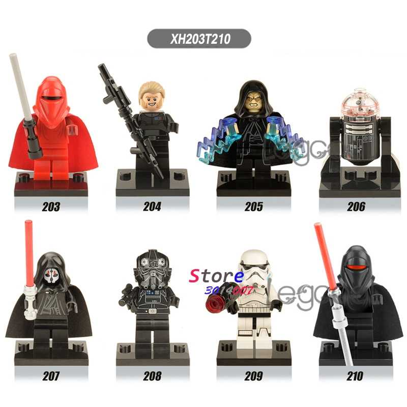1PCS Building Blocks DIY Kallus Sheev Palpatine R2D2 Darth Nihilus Tie PILOT ของเล่นสำหรับของขวัญเด็ก