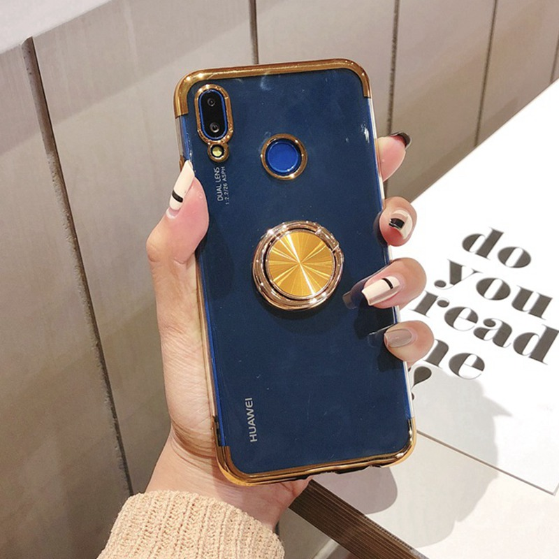 Adsorption Magnetic Case For Huawei Mate20 P30 Pro Nova 3 3I P20pro Clear Cover For Huawei P20 P10 Lite Pro Mate20pro Y9 Cases