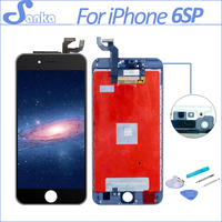 SANKA AAA for iPhone 6S PLUS LCD Display Digitizer Touch Screen Mobile Phone Parts Ecran LCD Screen Replacement White Black