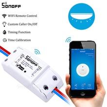 Original Sonoff 10A Wifi Smart Switch Remote Wireless Timer Light Switch Intelligent Universal DIY Smart Home Automation Module