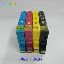 4pcs Compatible T631 T0631 Ink Cartridge t0631 For Epson Stylus C67 C87 CX3700 CX4100 CX4700 Printer Ink T063 orignal new printhead print head for epson cx3500 cx4700 cx5900 cx8300 cx9300 cx4100 cx4200 cx4600 cx4800 cx4850 cx7000 cx5800