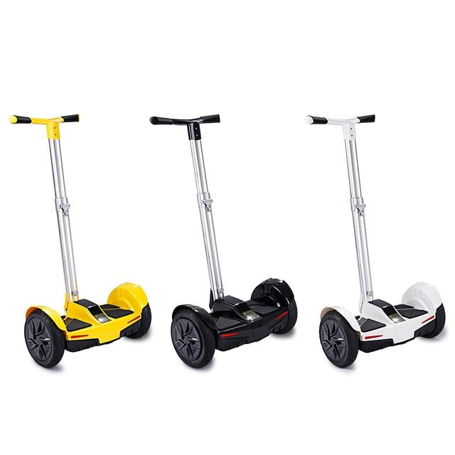 IScooter Ручка Бар Hover Доска 10 Дюймов Hoverboard 2 Колеса Скутера с Динамик Bluetooth И APP Горячей Продажи В ЕС и RU