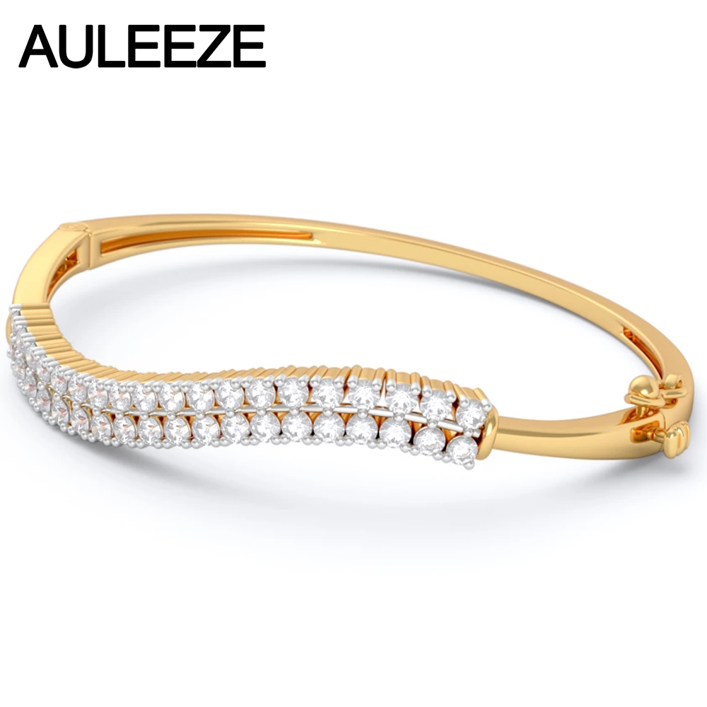 white lunar bangle m diamond gold robinson anniversary david