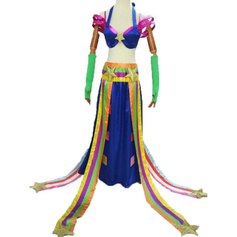 LOL le jeu LOL Sona cosplay Maven des cordes DJ Sona robe cosplay costume made