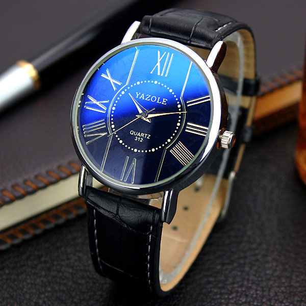 YAZOLE Mens Watches 2017 Top Brand Luxury Men Famous Quartz Watch Clock Male Wrist Watch For Men Quartz-watch Relogio Masculino mce top brand mens watches automatic men watch luxury stainless steel wristwatches male clock montre with box 335