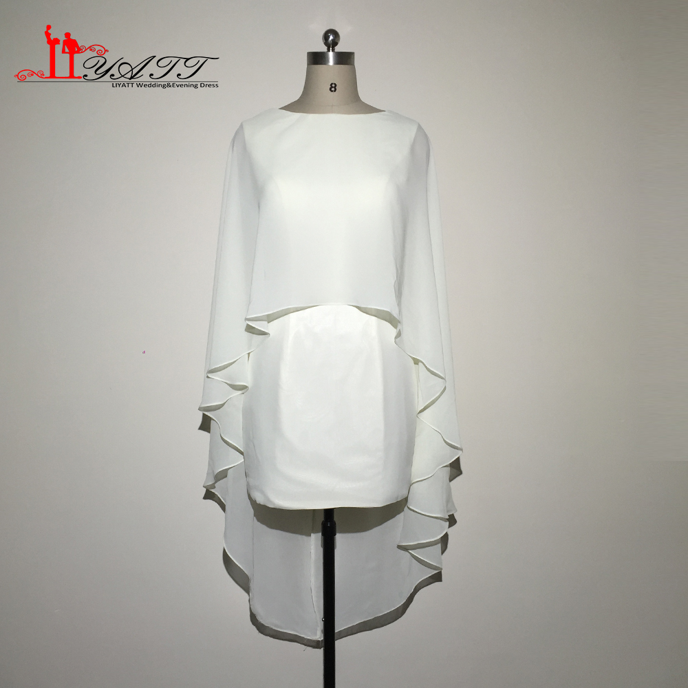 ᗚReal Photo Ivory Chiffon Cheap Mother of the Bride Suits Groom ...