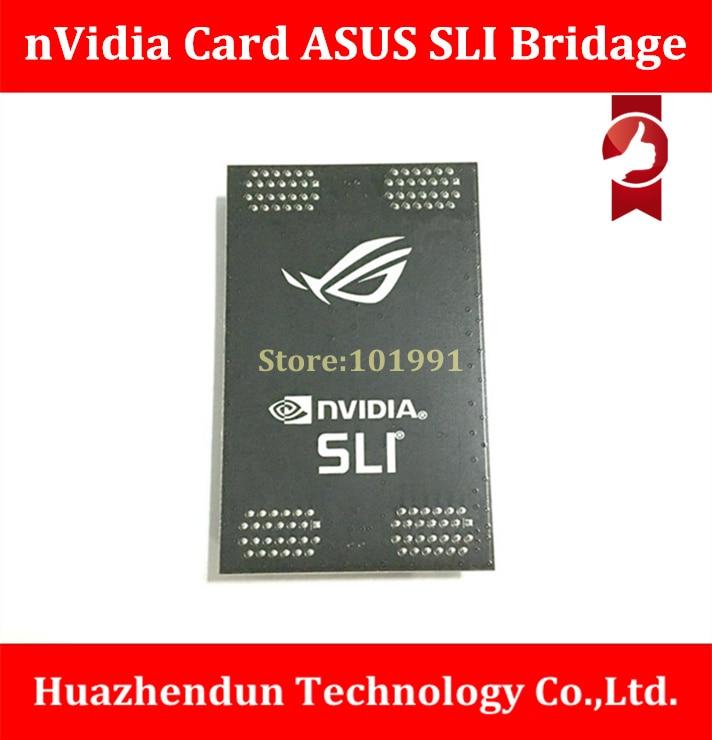 Original certified products nVidia Card SLI Bridge PCI-E Graphics Connector Bridge connection for Video Card 6CM