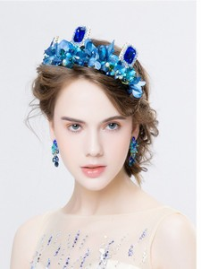 Charming-Royal-Crown-Blue-Crystal-Golden-Hairband-Floral-Bridal-Hair-Accessories-For-Women-Bridal-Veil-Diadem