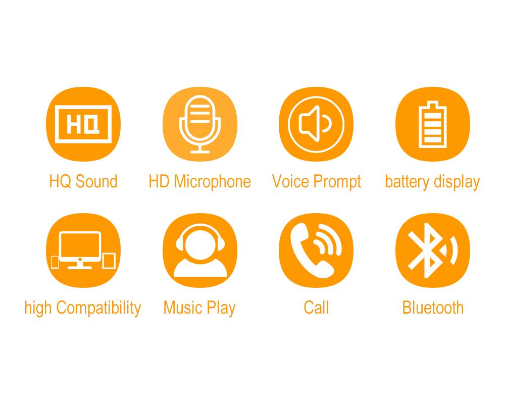 YODELI V4.1 Bluetooth Headset Metal Magnetic Wireless Stereo Earphone Headphones with Mic Sports Earphone Earbud for Sweatproof (12)