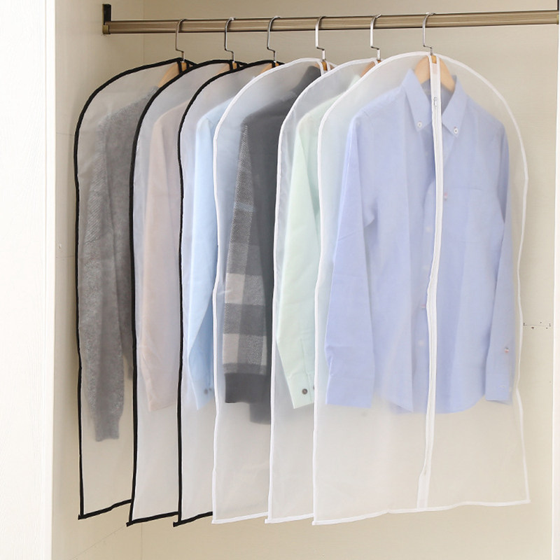 New Cloth Hanging Garment Suit Coat Dust Cover Protector Wardrobe Storage Bag