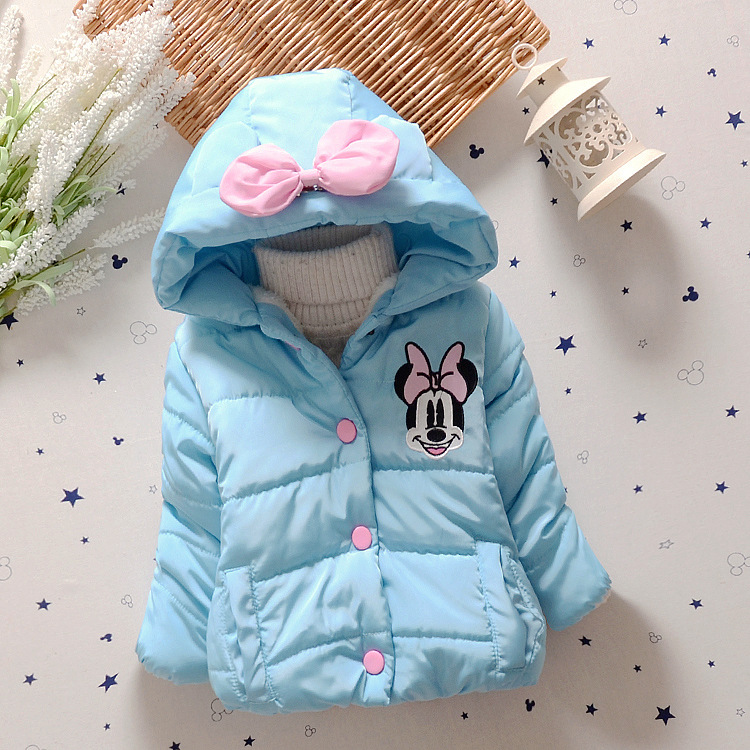 New Children Coat BabyGirls winter Coats full sleeve coat girls warm Baby jacket Winter Outerwear Thick girl clothing