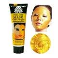 120 мл 24 К золотая маска Против морщин против старения тушь лица маска уход за лицом отбеливания лица маски для ухода за кожей лица подъема укрепляющий