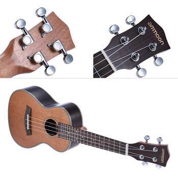"""ammoon 24\"""" Ukelele 18 Frets 4 Strings Korean Pine Acoustic Concert Ukulele Uke Wooden Okoume Neck Rosewood Fretboard"""