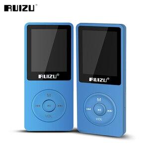 Image 3 - مشغل أصلي RUIZU X02 MP3 مع تخزين 8 جيجابايت شاشة 1.8 بوصة صغيرة محمولة رياضية Mp3 دعم راديو FM ، كتاب إلكتروني ، ساعة ، مسجل