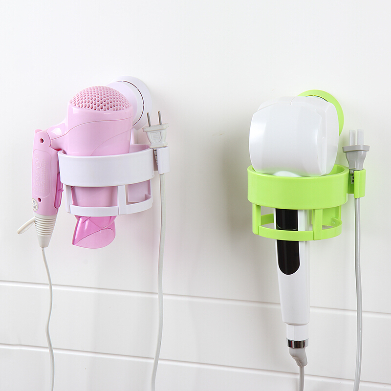 Simple life Bathroom shelf hair dryer rack holder households bathroom set wall hang shel ...
