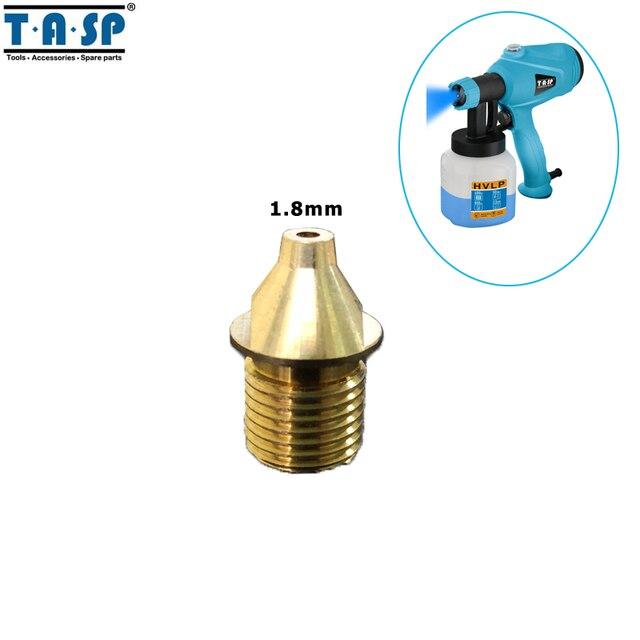 TASP 1.8mm Spray Gun Brass Nozzle Paint Sprayer Spare Parts for MESG400M