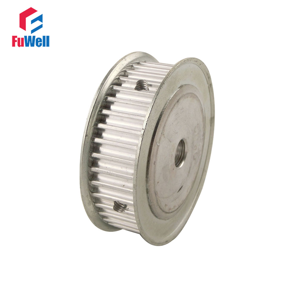 HTD5M Type 50T Timing Pulley 8/10/12/15/17/20mm Inner Bore 5mm Pitch 21mm Belt Width 50Teeth Aluminum Alloy Timing Belt Pulley купить недорого в Москве