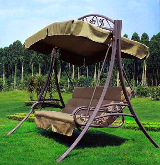 Charming Outdoor Balcony Swing Hanging Chair Rocking Chair Hot Selling Luxury  European Version Indoor Strap Swing